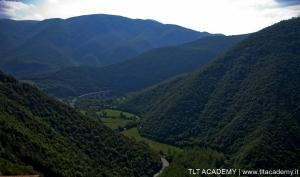 Veduta parziale dell'alta Valle del Nera.