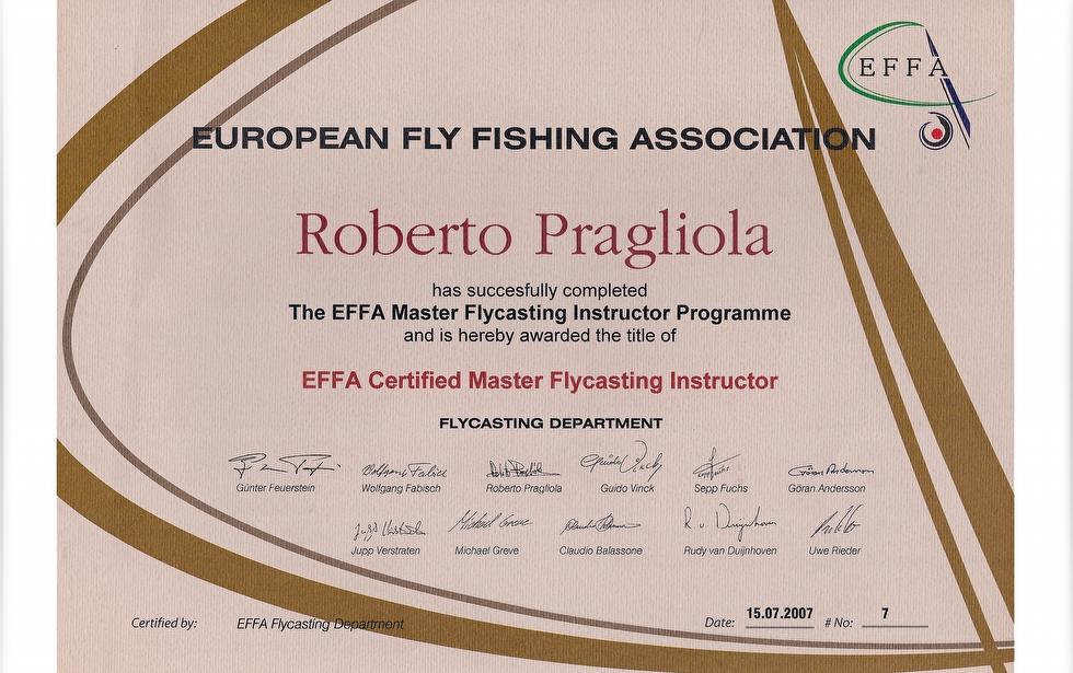 EFFA instructor