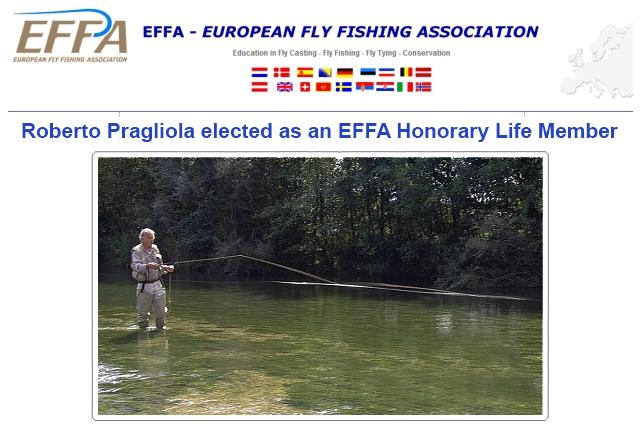 Roberto Pragliola viene eletto membro EFFA a vita